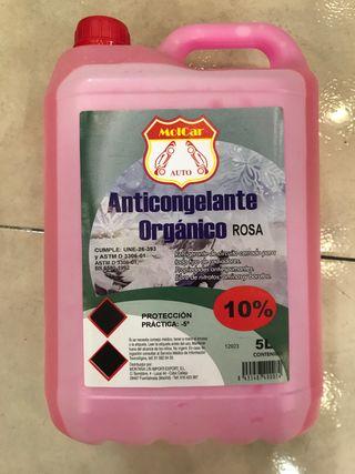 Anticongelante Orgánico Rosa