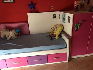 mueble de camas literas