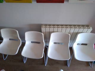 Silla de Ikea blanca