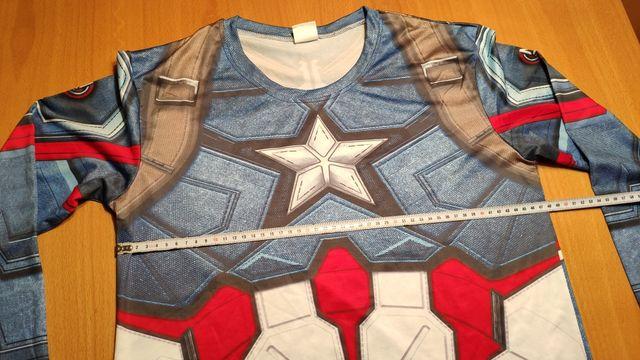 Camiseta disfraz Capitan America