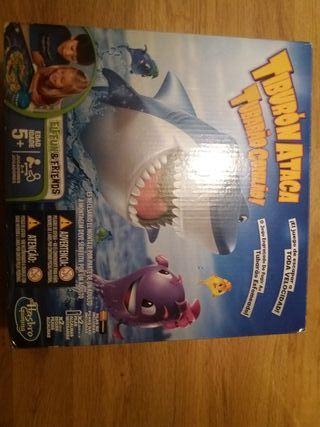 Juego tiburón ataca
