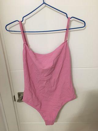 Bañador rosa Zara