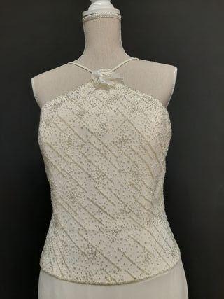 Vestido de Novia de Gasa nuevo