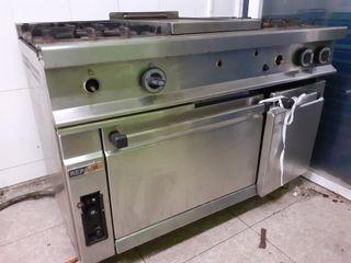 Cocina Industrial 4 fuegos REPAGAS