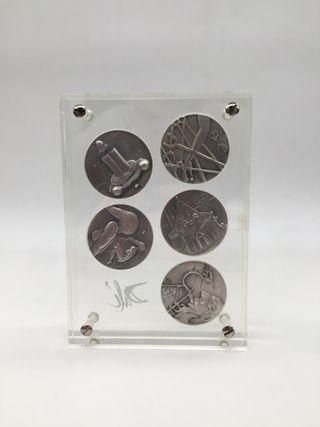Monedas DALÍ 10Mandamientos