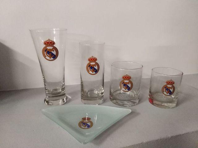 vasos del R.Madrid