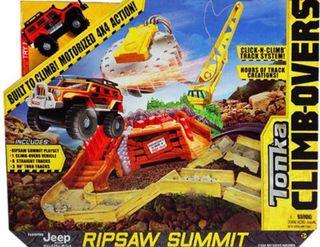 Pista con Jeep Tonka boulder escape
