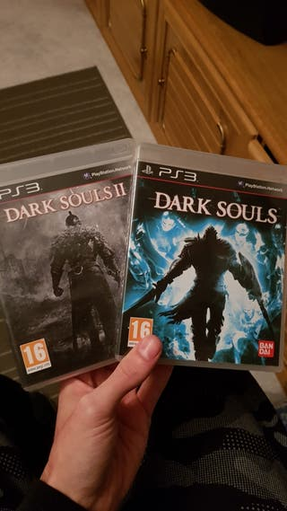 dark souls 1 y 2 ps3