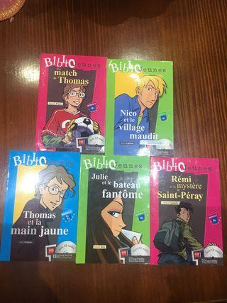Francés libros lectura con CDs