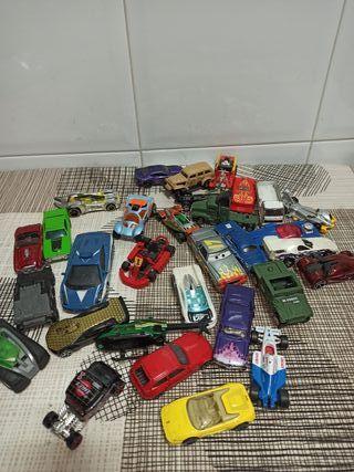 lote coches juguete