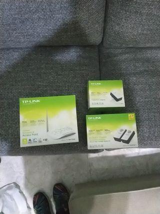 extensor señal Wifi y router