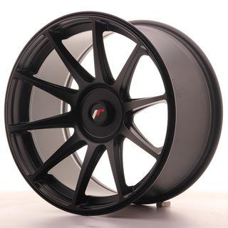 Japan Racing JR11 18x9,5 ET20-30 Blank Flat Black