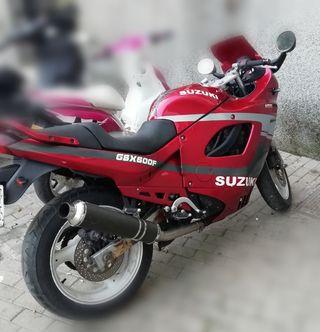 moto suzuki gsx600f