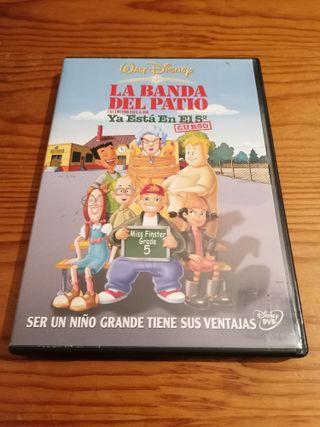 Película DVD: La Banda del Patio - Walt Disney