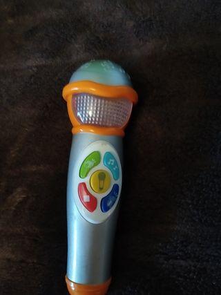 Micrófono infantil Karaoke, jueguete niñ@s