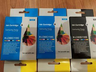 Cartuchos de tinta Brother compatibles