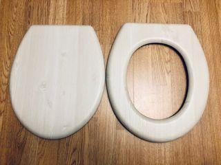 Tapa de madera gris sin bisagras
