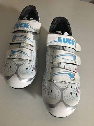 Zapatillas de ciclismo LUCK para mujer
