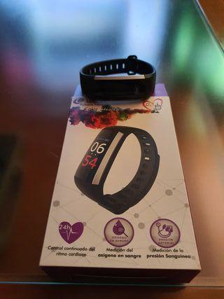 Reloj Pulsera Fitness Leotec Color Health