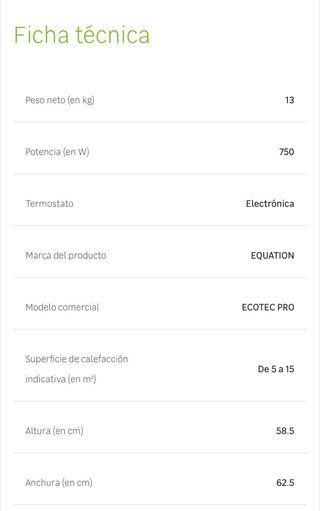 Emisor térmico de fluido Equation