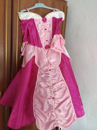 Disfraz princesa 3-4