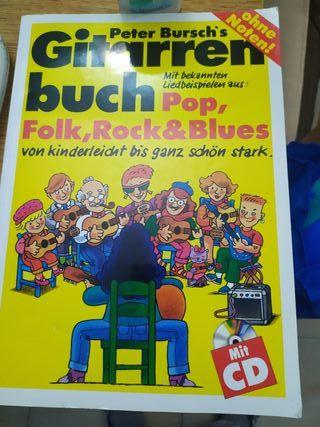 libro de aprender Guitarra en Aleman