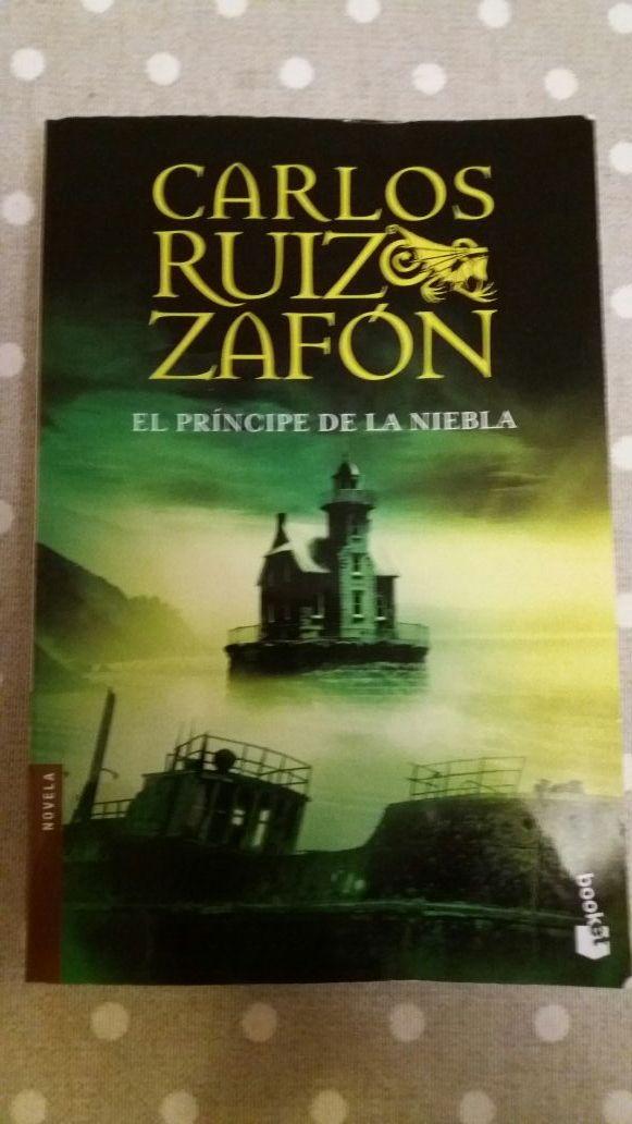 El principe de la niebla. Carlos Ruiz Zafón