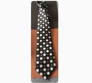 Corbata de seda 7 camicie topos