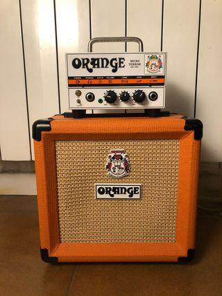 Orange Micro Terror + pantalla ppc108