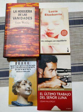 Novelas / libros lectura
