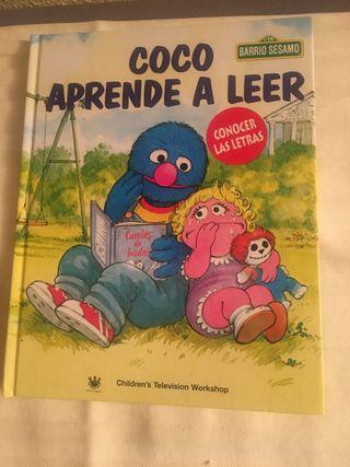 Libro Coco aprende a leer