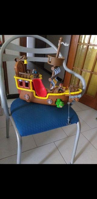 barco pirata musical