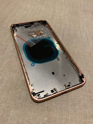 Chasis y cristal iPhone 8 Plus Rose Gold