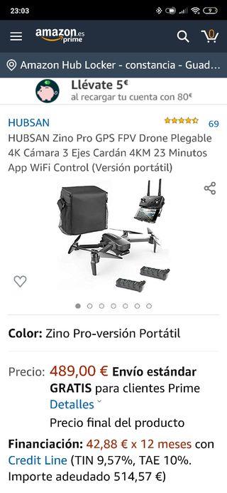 Dron hubsan