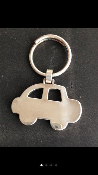 Llavero de plata Tous coche