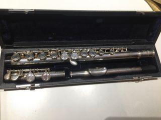 Antigua Flauta Travesera Ashley Plata