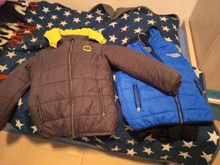 chaquetas y chaleco