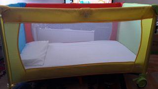 Cuna de viaje Asalvo baby con colchón y funda