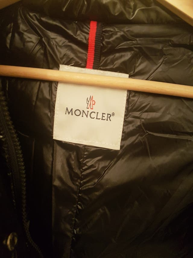 Moncler abrigo 3/4