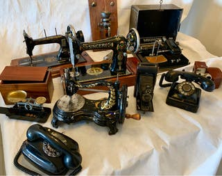 Se alquilan máquinas antiguas y otros enseres