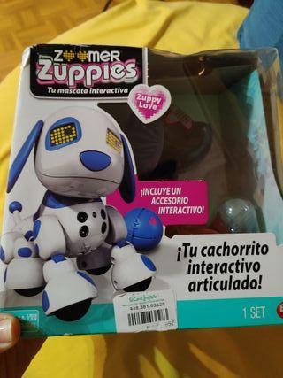 Cachorrito robot interactivo Zoomer Zuppies Estela