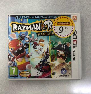 RAYMAN AND RABBIDS NINTENDO 3DS