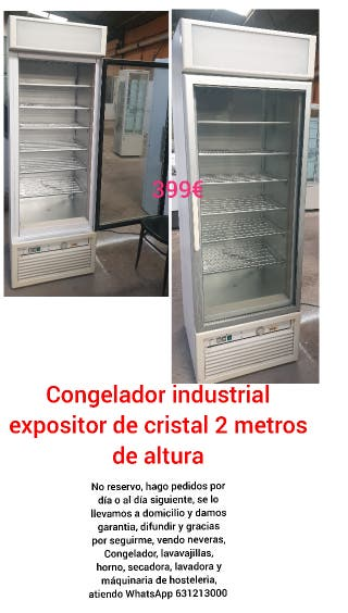 DEJA WASAP congelador vertical de 8 cajones