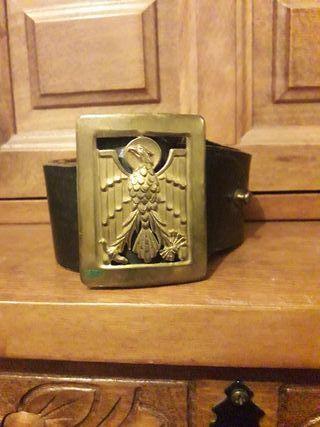 Antiguo cinturón de la policía armada