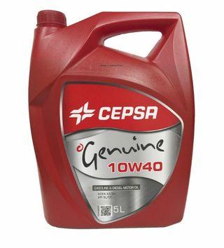 Aceite Lubricante Cepsa Genuine 10w40 5l