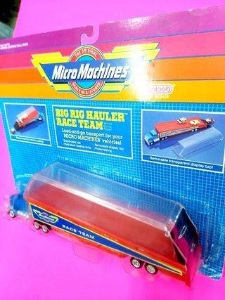 Camión Transporte Micro Machines nuevo
