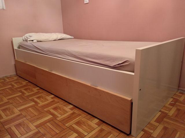 URGE!! Cama Ikea con cajones+colchón 90x200cm