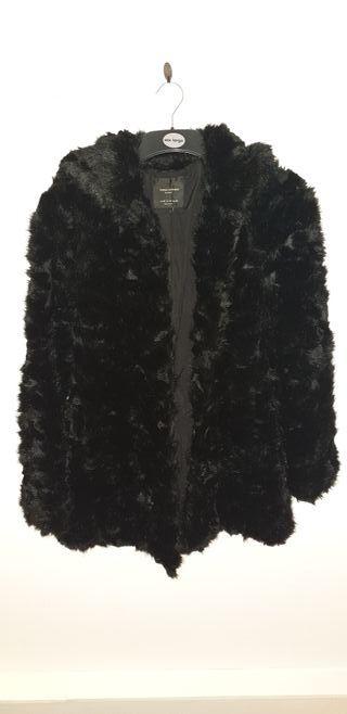 zara fur coat