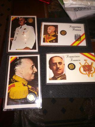 colección monedas Francisco Franco