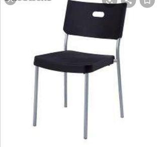 sillas de comedor pero en color blanco